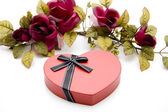 Heart box — Foto de Stock