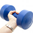 Dumbbell — Stock Photo