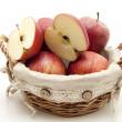 Fresh apples — Stock Photo