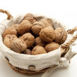 Walnuts in Basket — Stock Photo #12389143