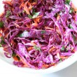 Colorful coleslaw — Stock Photo