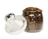 Coffee in a jar — Stock Photo