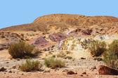 Unikatowe kolorowe Piaski pustyni — Zdjęcie stockowe