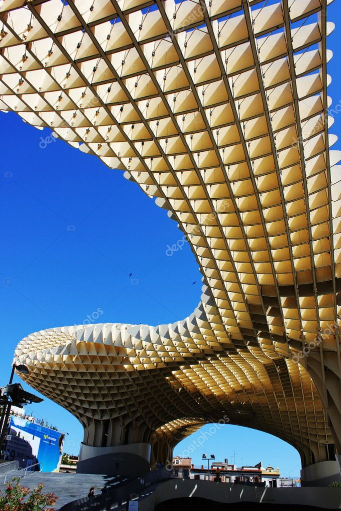 Esctructura en la seta de sevilla — Stock Photo #10916482