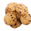 Heap of Chocolate Chip Cookies — Stock Photo