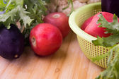 Variety of raw vegetables — Stock Photo