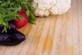 Assorted fresh vegetables — Stock Photo