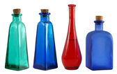 Color bottles — Stock Photo