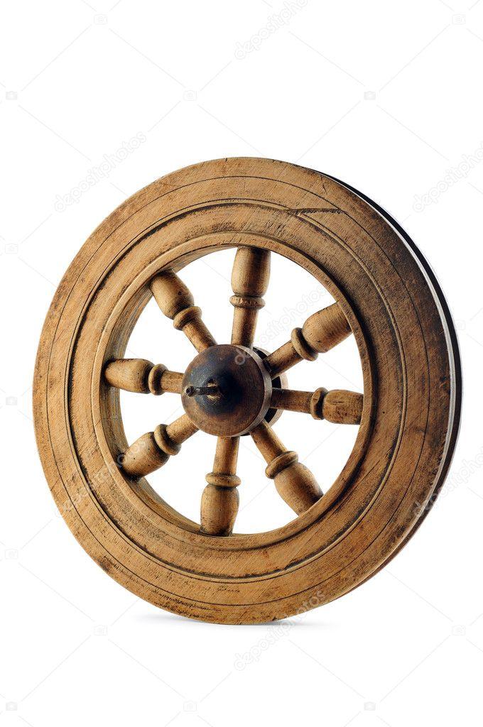 Деревянное колесо