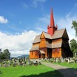 Stavkirke, Norway — Stock Photo
