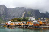 Lofoten in Norway — Foto Stock