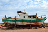 Old fishermen boat — Stock Photo