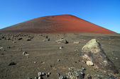 Red volcano — Stock Photo