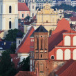 Stock Photo: Church in Vilnius, Summer