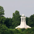 Stock Photo: Three Crosses in Vilnius