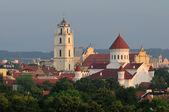Wileńskie stare miasto — Zdjęcie stockowe