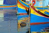 Bateaux de pêche maltais — Photo