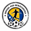 Bosnia and Herzegovina football - Stock Vector