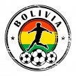 Bolivia football — Stock Vector