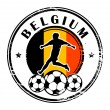 Royalty-Free Stock Vector Image: Belgium football