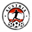 Royalty-Free Stock Vector Image: Austria football