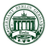 Berlin stamp — Stock Vector