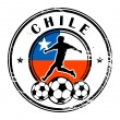 Royalty-Free Stock Vector Image: Chile football