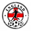 Stock Vector: England football