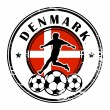 Royalty-Free Stock Vector Image: Denmark football