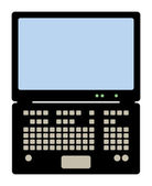 Laptop computer — Stockvector