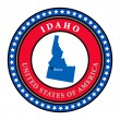 Label Idaho — Stock Vector #11302695
