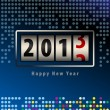 Royalty-Free Stock Vector Image: Happy new year card