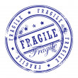 Stamp Fragile — Stock Vector #11303166