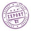 Stamp Export — Stock Vector