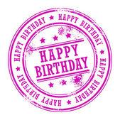 Steering Happy Birthday — Stock Vector