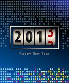 Gelukkig nieuwjaarskaart — Stockvector