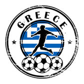řecko fotbal — Stock vektor