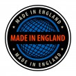 Made in England — Stock vektor