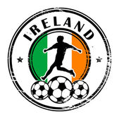 Ireland football — Stock Vector