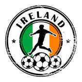 футбол ирландия — Cтоковый вектор