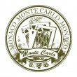 Royalty-Free Stock Vector Image: Stamp Monte Carlo, Monaco