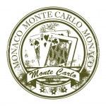 Stamp Monte Carlo, Monaco — Stock Vector #11355389