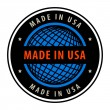 Made in USA — Stock Vector #11355665