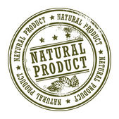 Natural Product stamp — Stock Vector