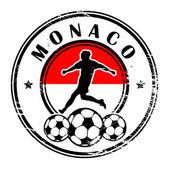 Monaco football — Stock Vector