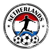 Netherlands football — Stock Vector