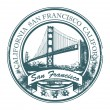Stamp San Francisco, California - Stock Vector