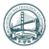 Stamp San Francisco, California — Stock Vector