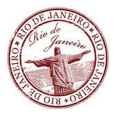 Stamp Rio de Janeiro — Stock Vector