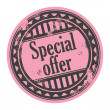 Sale Special offer — Stock Vector